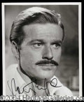 Autographs, Robert Redford