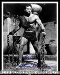 Autographs, Steve Reeves