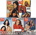 Autographs, Various Charlie's Angels-related TV Guides