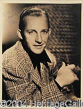 Autographs, BING CROSBY