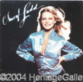 Autographs, Cheryl Ladd in Long Playing Format