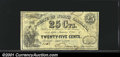 Obsoletes By State:North Carolina, 1863 25¢ State of North Carolina, Raleigh, NC, Cr-140, VF. You ...