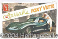 Autographs, Model Kit-Farrah's Foxy Vette (MIB)