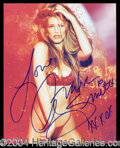 Autographs, Amber Smith