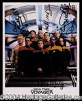 Autographs, Star Trek Voyager
