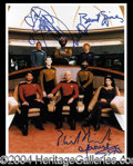 Autographs, Star Trek: Next Generation
