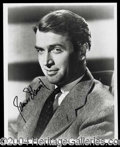 Autographs, Jimmy Stewart