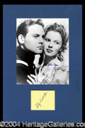 Autographs, Shirley Temple and John Agar