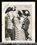 Autographs, The Three Stooges