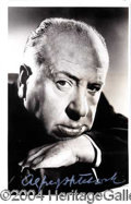 Autographs, ALFRED HITCHCOCK