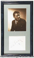 Autographs, Spencer Tracy