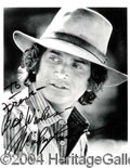 Autographs, MICHAEL LANDON