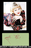 Autographs, Drew Barrymore