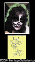 Autographs, Peter Criss (Kiss)