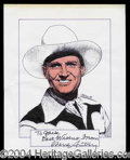 Autographs, Gene Autry