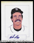Autographs, Wade Boggs