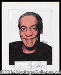 Autographs, Bill Cosby