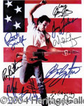 Autographs, BRUCE SPRINGSTEEN AND THE E STREET BAND