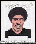 Autographs, Julius Erving