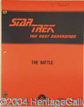 Autographs, STAR TREK: THE NEXT GENERATION