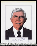 Autographs, Andy Griffith
