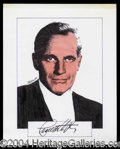 Autographs, Charlton Heston