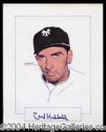 Autographs, Carl Hubbell