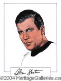 Autographs, William Shatner
