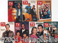 Autographs, Lot of Seven Happy Days TV Guides