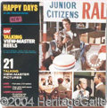 Autographs, Lot of Four Happy Days View-Master Reels