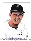 Autographs, Ted Williams