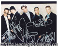 Autographs, The Backstreet Boys