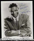 Autographs, Nat King Cole