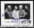 Autographs, Crosby, Stills, Nash, and Young