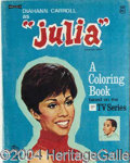 Autographs, Lot of Three 'Julia' Coloring Books