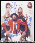 Autographs, Fleetwood Mac