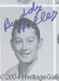 Autographs, BUDDY HOLLY