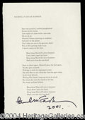 Autographs, Paul McCartney