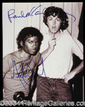 Autographs, Paul McCartney and Michael Jackson
