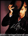 Autographs, George Michael