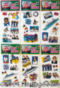 Autographs, Puffy Stickers #8393A-F (Set of 6 different)