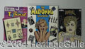 Autographs, Assortment of Madonna Books, Periodicals (33)