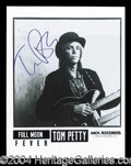 Autographs, Tom Petty