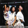 Autographs, The Pointer Sisters