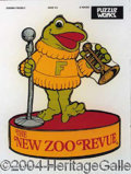 Autographs, Lot of Five New Zoo Revue Finger Puppets