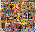 Autographs, Large Lot of Partridge Family Comic Books