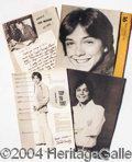 Autographs, David Cassidy Lovers Kit