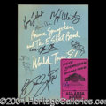 Autographs, Bruce Springsteen & The E Street Band