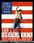 Autographs, Bruce Springsteen