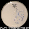 Autographs, Charlie Watts (Rolling Stones)